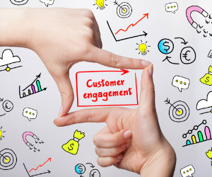 The Customer Engagement Conversation - Purple Square